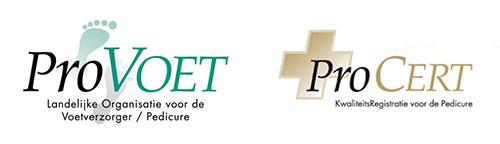 Provoet en Procert logo